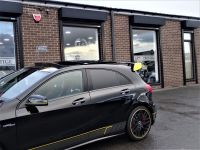 Mercedes-Benz A Class 2.0 A45 AMG AUTO HUGH SPEC AERO PACK PAN ROOF YELLOW EDITION PACK Hatchback Petrol Black