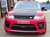 Land Rover Range Rover Sport 3.0 SDV6 HSE SVR STYLING PACK BLACK DIAMOND EDITION LATEST SHAPE LR WARRANTY PAN ROOF DVD TV Estate Diesel Red
