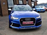 Audi RS6 4.0T FSI Quattro Tip Auto SEPANG BLUE PEARL EFFECT WITH AUDI WARRANTY AND HUGH SPEC Estate Petrol Blue