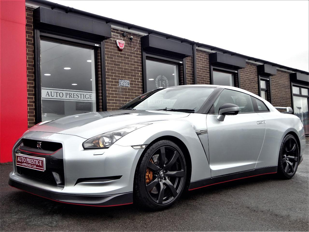 Nissan GT-R 3.8 GT-R PREMIUM EDITION S-A STAGE 1 WITH NISMO DETAILING PACK AND BLACK PACK 60 REG Coupe Petrol Silver at Autoprestige Bradford
