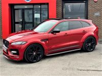 Jaguar F-pace 3.0d V6 S 5dr Auto AWD GTS WIDEBODY HUGH SPEC Four Wheel Drive Diesel Red