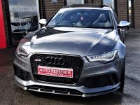 Audi RS6 4.0T FSI V8 Bi-Turbo RS6 Quattro 5dr Tip Auto HUGH SPEC PAN ROOF CAMERAS SPORTS EXHAUSTS BLACK PACK Estate Petrol Grey