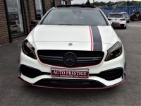Mercedes-Benz A Class 2.0 A45 AMG 4MATIC AUTO HUGE SPECIFICATION 67 REG WHITE PAN ROOF NIGHT PACK Hatchback Petrol White
