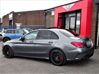 Mercedes-Benz C Class 4.0 C63 S Premium Plus 4dr 9G-Tronic AS NEW HUGE SPEC JUST SERVICED AT MB Saloon Petrol Grey