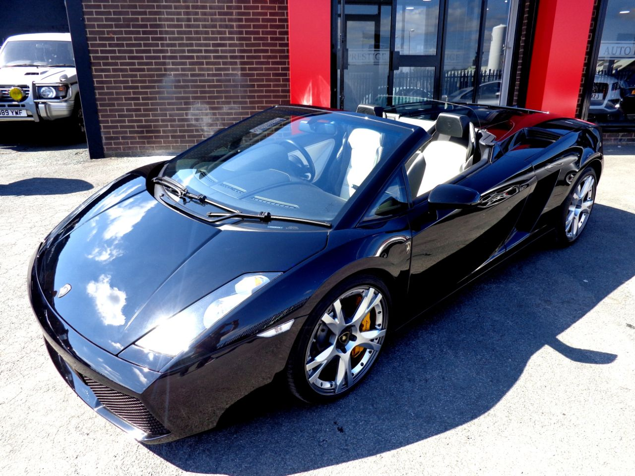 Lamborghini Gallardo 5.0 SPYDER E-GEAR WITH EXTRAS RARE GULLWING DOORS EXTENSIVE HISTORY FILE VERY HIGH SPEC Convertible Petrol Black