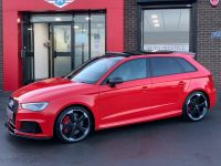 Audi RS3 2.5 Quattro 5dr S Tronic [Nav] ULTIMATE SPECIFICATION VERY HIGH SPEC BLIND SPOT PAN ROOF BUCKETS Hatchback Petrol Red