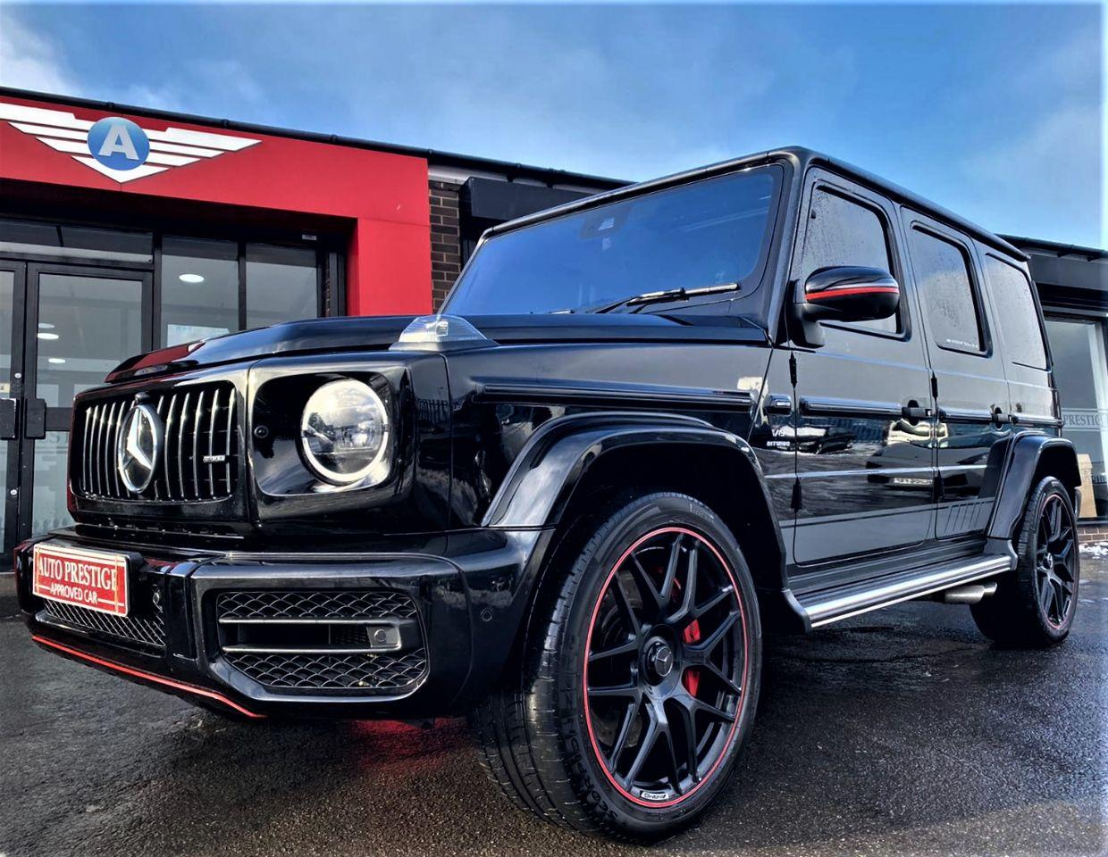 Mercedes-Benz G Class 4.0 G63 5dr 9G-Tronic AS NEW BLACK HUGE SPECIFICATION Estate Petrol Black at Autoprestige Bradford