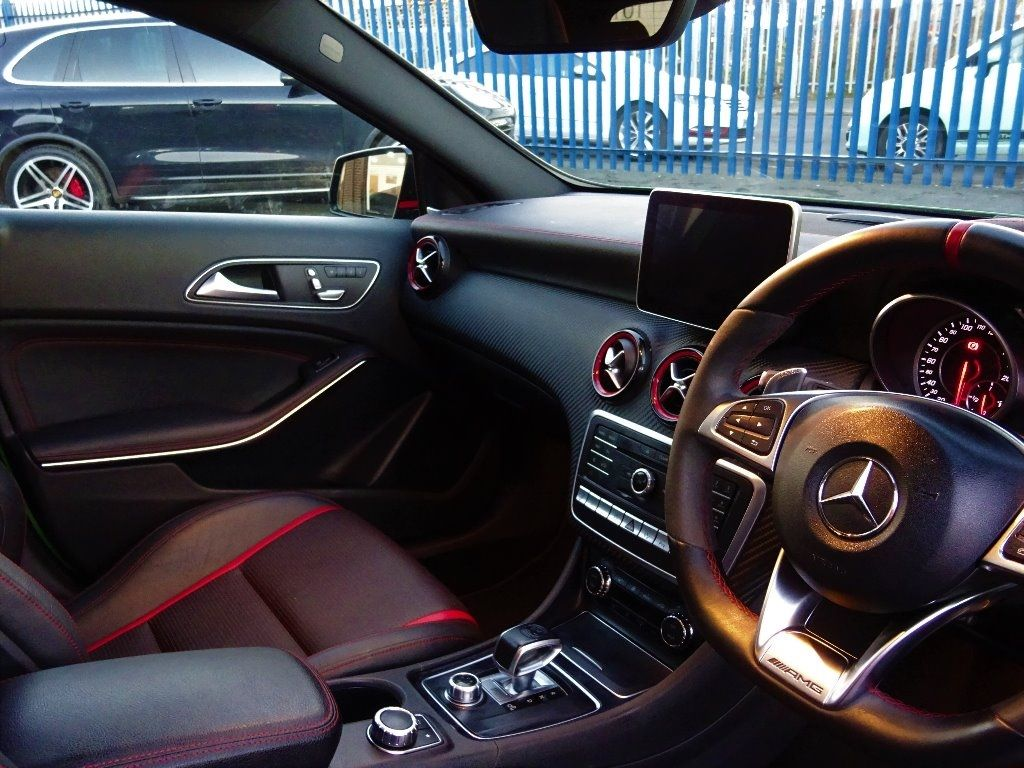 Mercedes-Benz AMG 2.0 A45 AMG PREMIUM RACE EDITION WITH EVERY EXTRA RARE ELBAITE PEARL EFFECT 2016 MODEL Hatchback Petrol Elbaite Pearl
