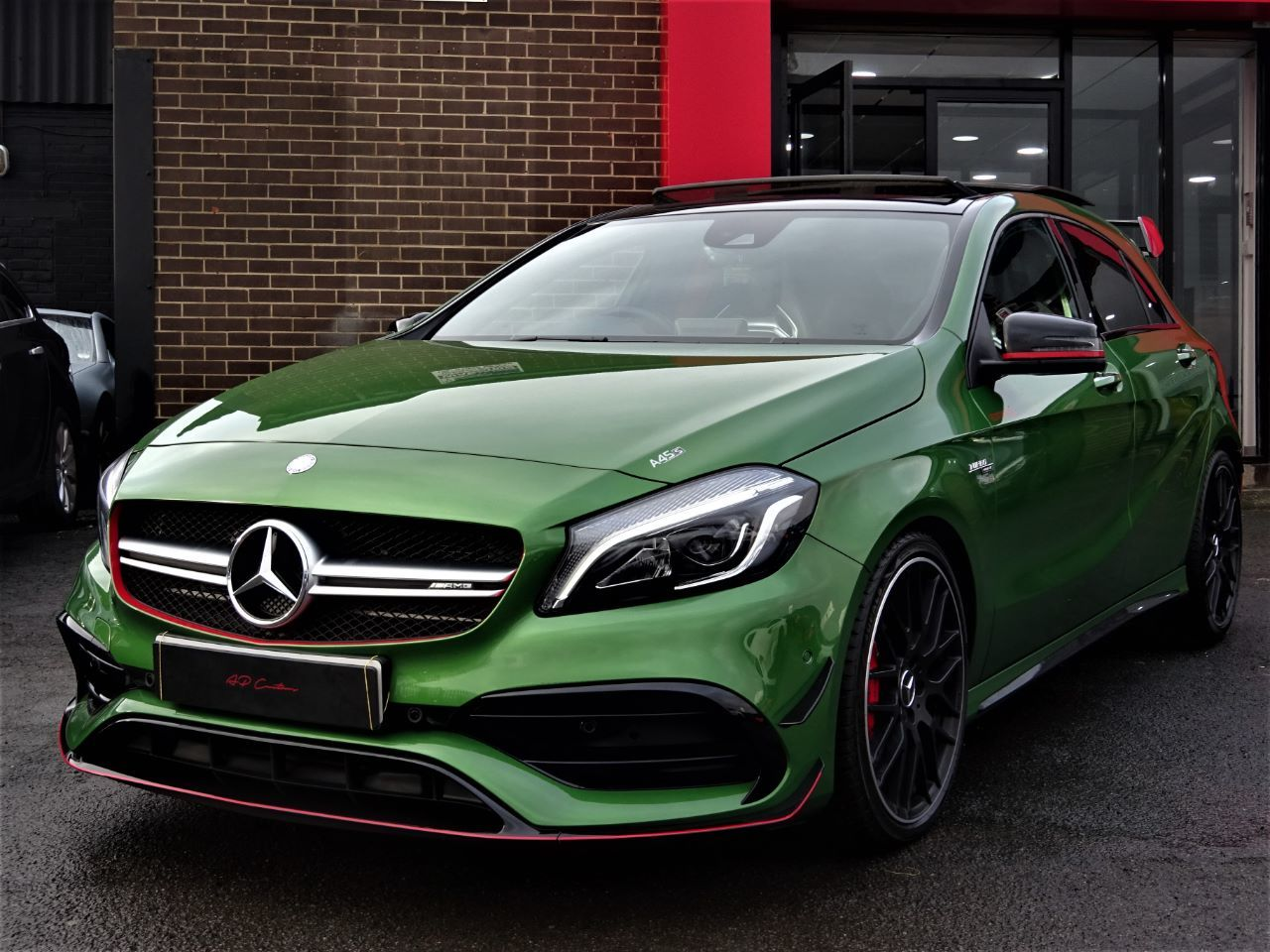 Mercedes-Benz AMG 2.0 A45 AMG PREMIUM RACE EDITION WITH EVERY EXTRA RARE ELBAITE PEARL EFFECT 2016 MODEL Hatchback Petrol Elbaite Pearl at Autoprestige Bradford