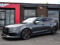 Audi RS6 4.0T FSI V8 Bi-Turbo QUATTRO 64 REG WITH CARBON PACK DYNAMIC PACK AND EXTRAS EXTENSIVE HISTORY FILE Estate Petrol Grey