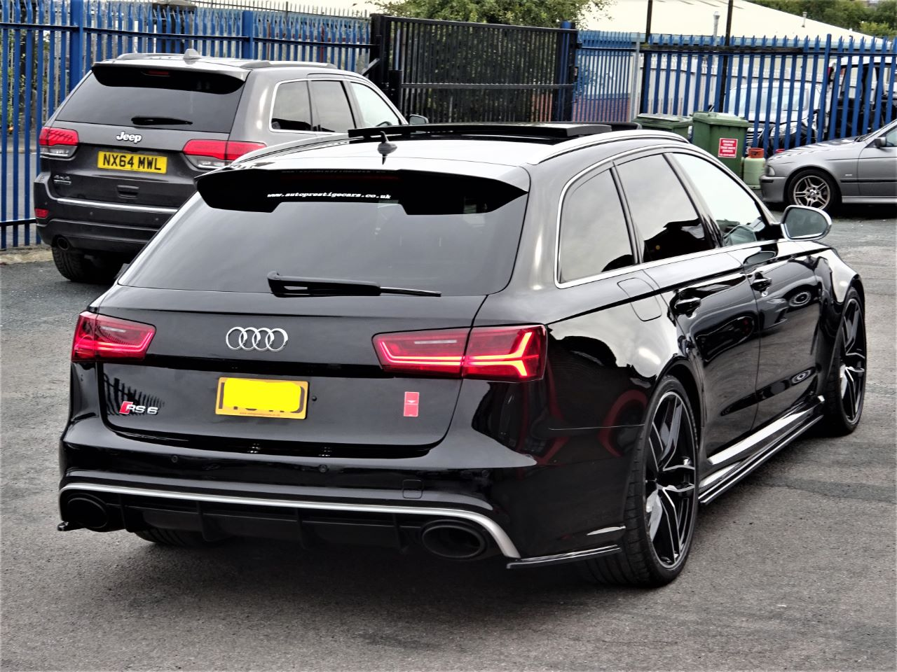 Audi RS6 4.0T FSI Quattro FACELIFT MODEL EVERY EXTRA AERO PACK 1 OWNER FASH BLACK DOUBLE GLAZING GLASS Estate Petrol Black
