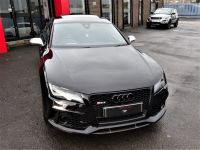 Audi RS7 4.0T FSI V8 Bi-Turbo Quattro Tip Auto EVERY EXTRA NIGHT VISION MASSIVE HISTORY FILE ONE OF THE BEST Hatchback Petrol Black