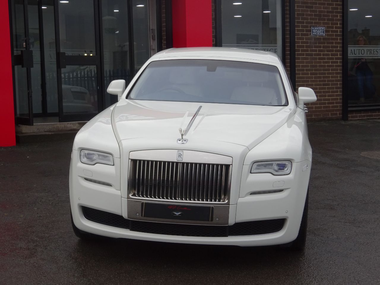 Rolls Royce Ghost 6.6 II 4dr Auto 5 YEAR SERVICE PLAN 4 YEAR WARRANTY AS NEW Saloon Petrol White