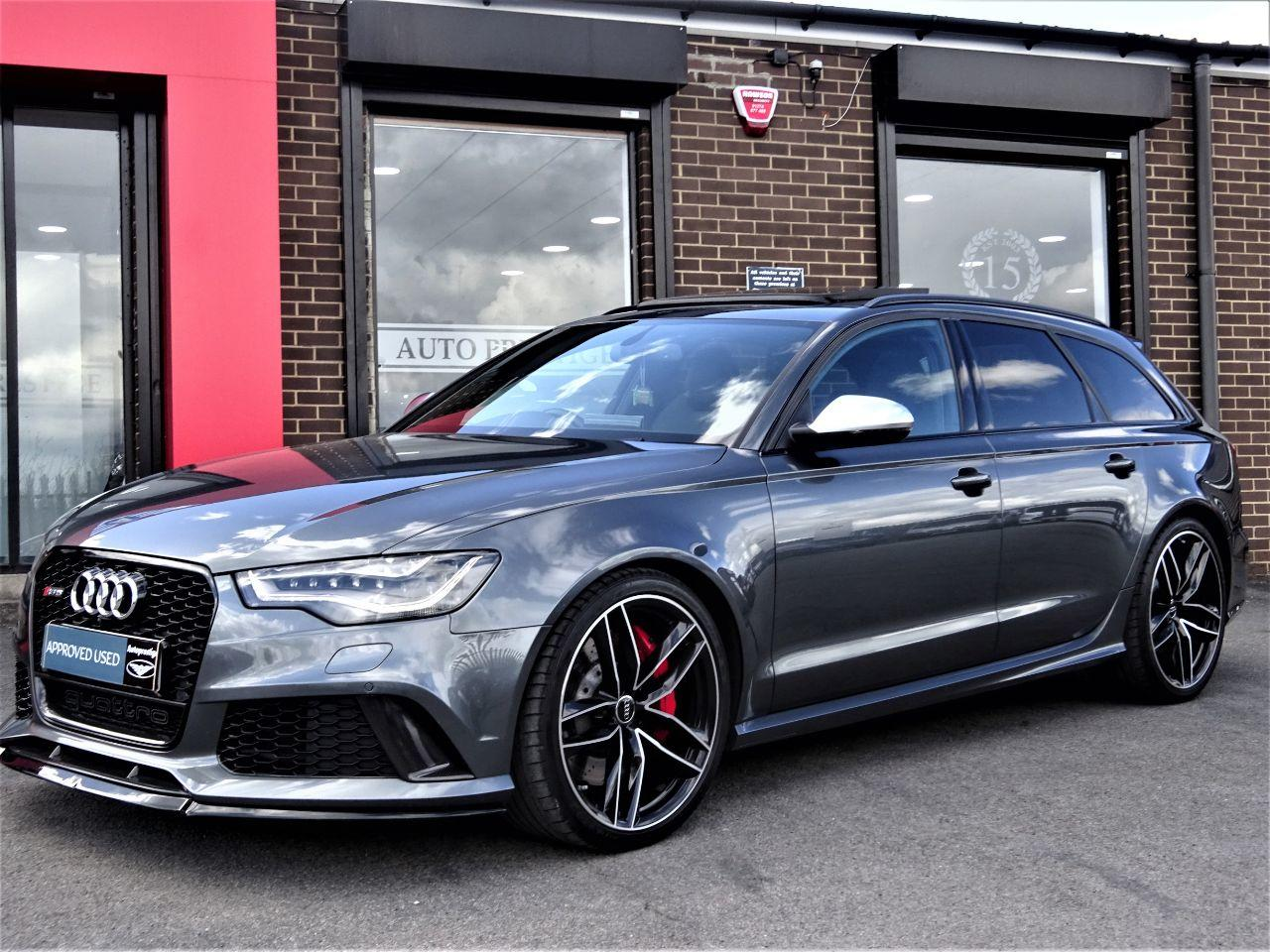 Audi RS6 4.0T FSI V8 Bi-Turbo RS6 Quattro 5dr Tip Auto HIGH SPEC LOW MILEAGE Estate Petrol Daytona Grey at Autoprestige Bradford
