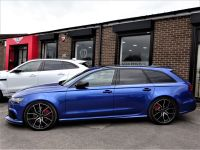 Audi RS6 4.0T FSI Quattro Performance 5dr Tip Auto 2017 MODEL 66 REG MASSIVE SPEC PAN ROOF SEPANG BLUE Estate Petrol Sepang Blue