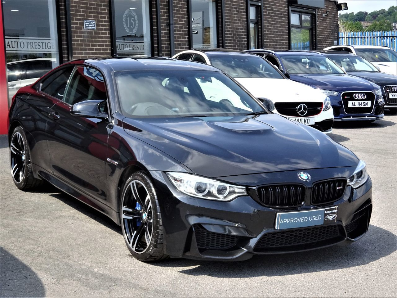 BMW M4 3.0 2dr DCT COUPE 64 REG LAST OWNER 2015 FBMWSH CHEAPEST M4 AROUND Coupe Petrol Black at Autoprestige Bradford