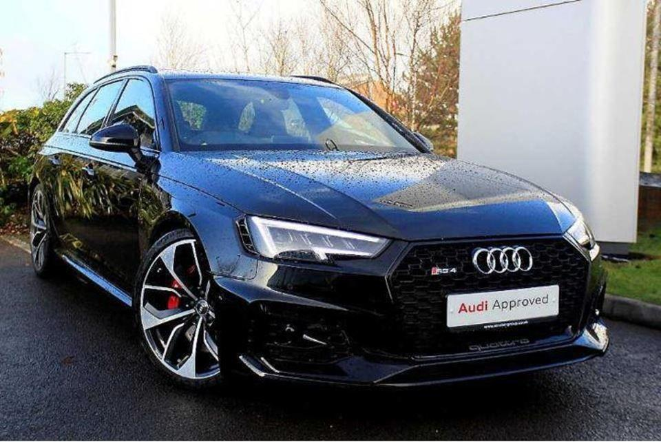 Audi RS4 Avant 2.9 TFSI BRAND NEW UN-REGISTERED EVERY EXTRA LISTED OVER 80K NEW Estate Petrol Black at Autoprestige Bradford