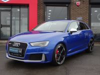 Audi RS3 2.5 TFSI Quattro 5dr S Tronic 65 REG SEPANG BLUE AUDI WARRANTY MAG RIDE DYNAMIC PACK SPORTS EXHAUST Hatchback Petrol Blue