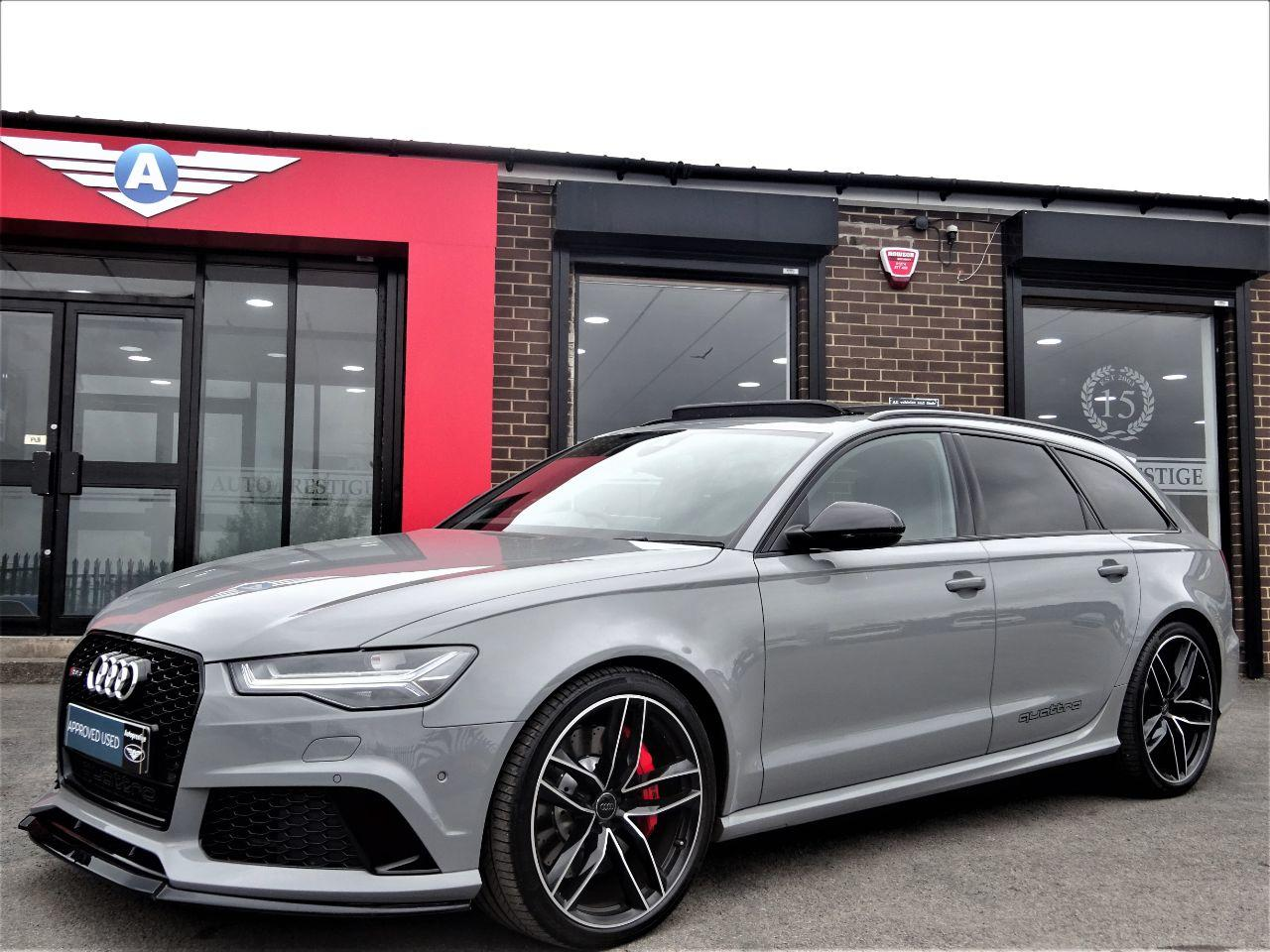 Audi RS6 4.0T FSI Quattro RS 6 5dr Tip Auto NARDO GREY MASSIVE SPEC 2016 MODEL 1 OWNER Estate Petrol Nardo Grey at Autoprestige Bradford