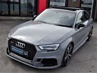 Audi RS3 2.5 TFSI Quattro S Tronic SALOON MASSIVE SPEC NARDO GREY 67 DESIGN PACK CERAMIC BRAKES Saloon Petrol Grey