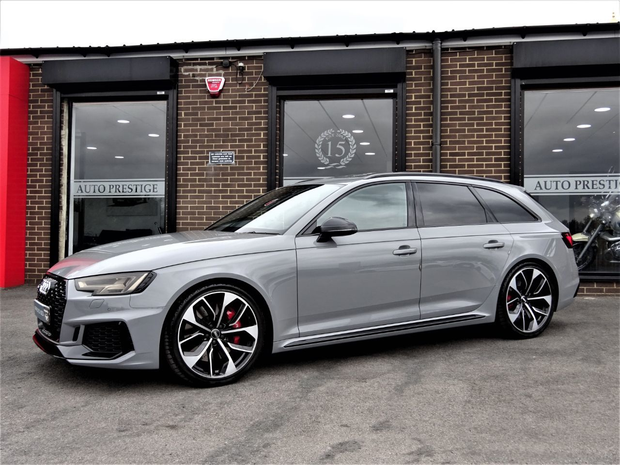 Audi RS4 2.9 TFSI Quattro 5dr Tip tronic AS NEW MASSIVE SPEC WITH NEARLY ALL OPTIONS VATQ Estate Petrol Nardo GreyAudi RS4 2.9 TFSI Quattro 5dr Tip tronic AS NEW MASSIVE SPEC WITH NEARLY ALL OPTIONS VATQ Estate Petrol Nardo Grey at Autoprestige Bradford