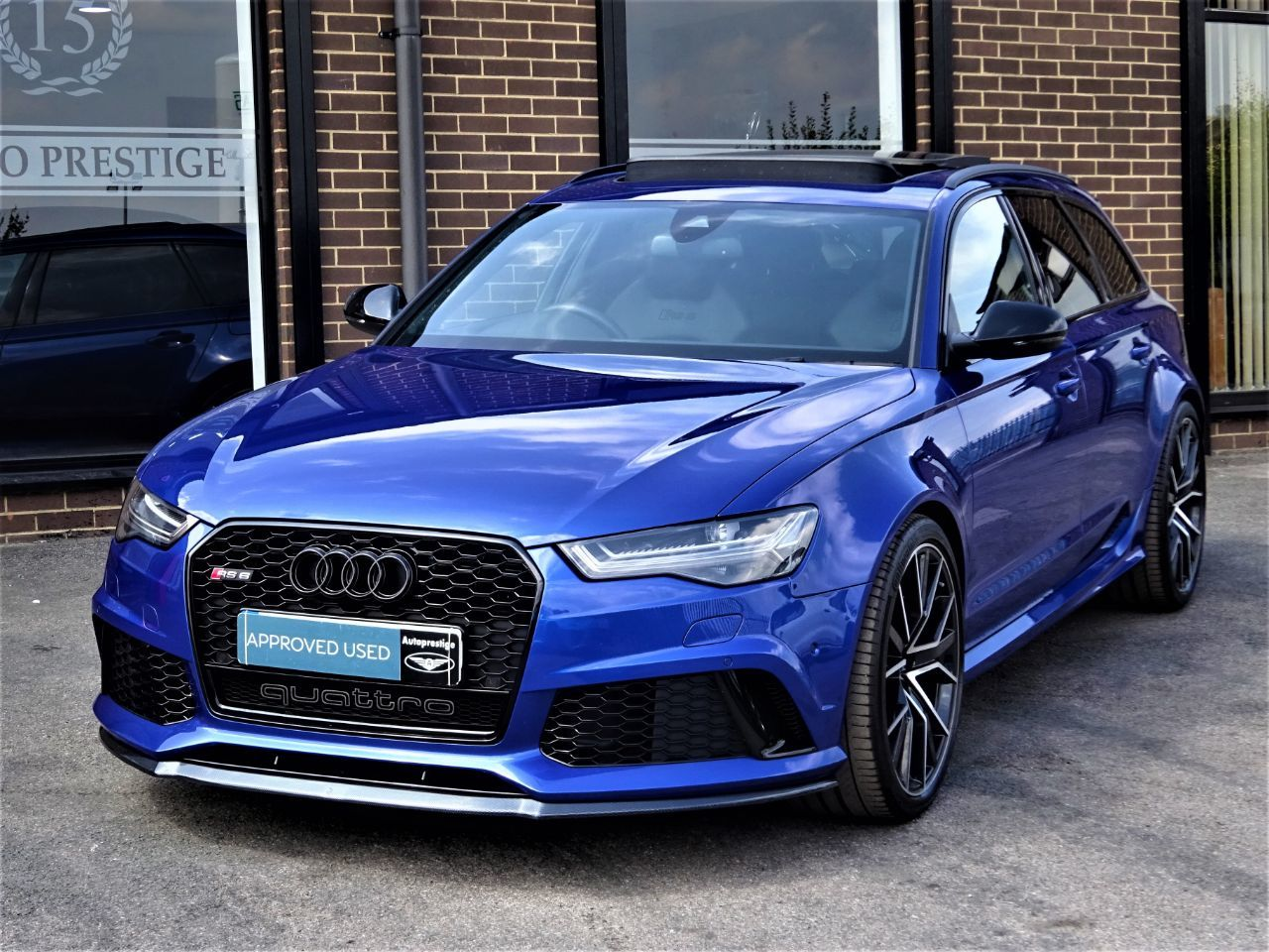 Audi RS6 4.0T FSI Quattro RS 6 Performance 5dr Tip Auto MASSIVE SPEC MANY EXTRAS 1 OWNER Estate Petrol BlueAudi RS6 4.0T FSI Quattro RS 6 Performance 5dr Tip Auto MASSIVE SPEC MANY EXTRAS 1 OWNER Estate Petrol Blue at Autoprestige Bradford