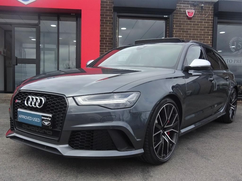 Audi RS6 4.0 Performance Avant Tiptronic Quattro 5dr Estate Petrol Grey at Autoprestige Bradford