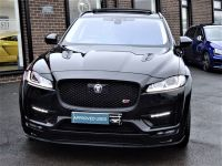 Jaguar F-pace 3.0d V6 S 5dr Auto AWD 300 PS ADAIR GTS WIDEBODY ASV PAN ROOF MASSIVE SPECIFICATION Estate Diesel Black
