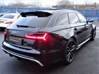 Audi RS6 4.0T FSI Quattro Tip Auto MASSIVE SPECIFICATION 66 REG VERY LOW MILEAGE FROM NEW Estate Petrol Black