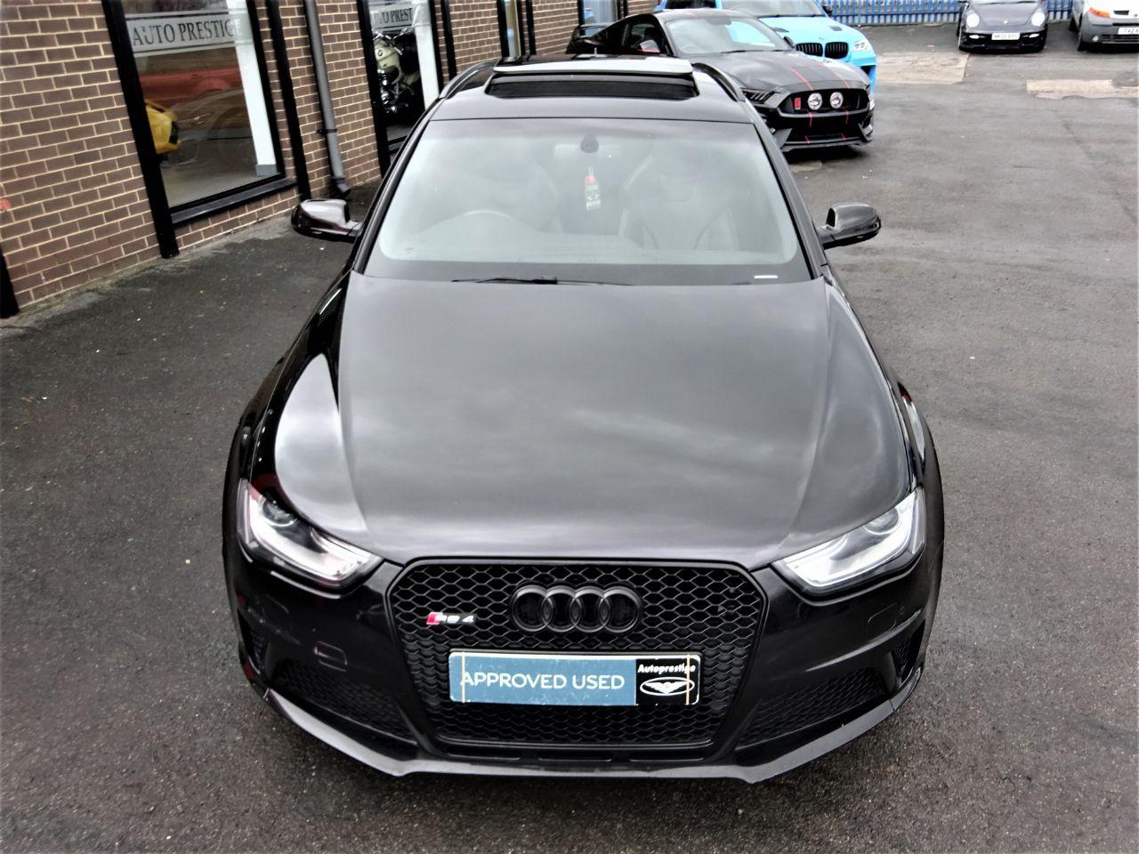 Audi RS4 4.2 FSI Quattro 5dr S Tronic MASSIVE SPECIFICATION BLACK PACK 63 REG Estate Petrol Black at Autoprestige Bradford