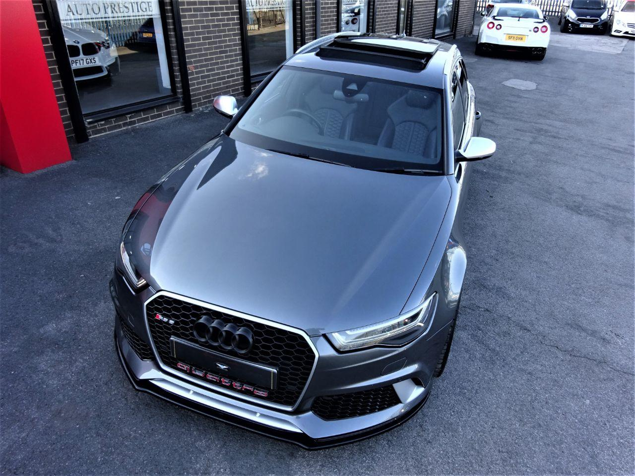 Audi RS6 4.0 TFSI Avant WITH ALUMINIUM PACK LOW MILEAGE WITH EXTRAS PAN ROOF Estate Petrol Grey at Autoprestige Bradford