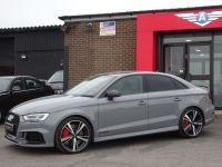 Audi RS3 2.5 TFSI Quattro 4dr S Tronic WITH MASSIVE SPEC OVER 50K NEW LAST RETIRED OWNER NARDO GREY Saloon Petrol Grey