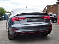 Audi RS3 2.5 TFSI RS 3 Quattro 4dr S Tronic WITH EXTRAS 68 REG AS  NEW LOW MILEAGE CARBON AERO PACK Saloon Petrol Daytona Grey Pearl Effect