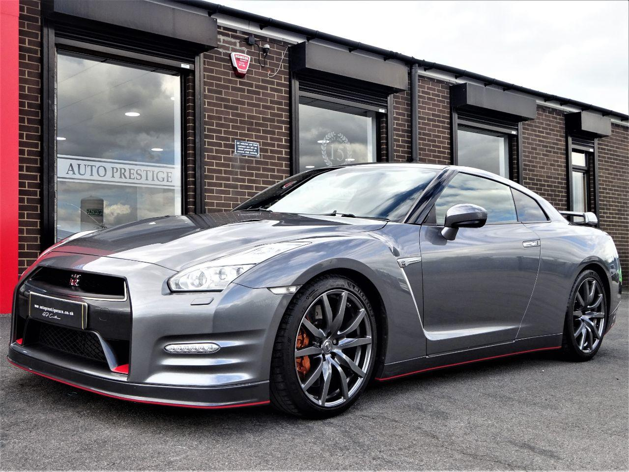 Nissan GT-R 3.8 [550] Premium 2dr Auto FACELIFT 64 REG IN METALLIC GREY Coupe Petrol Grey at Autoprestige Bradford