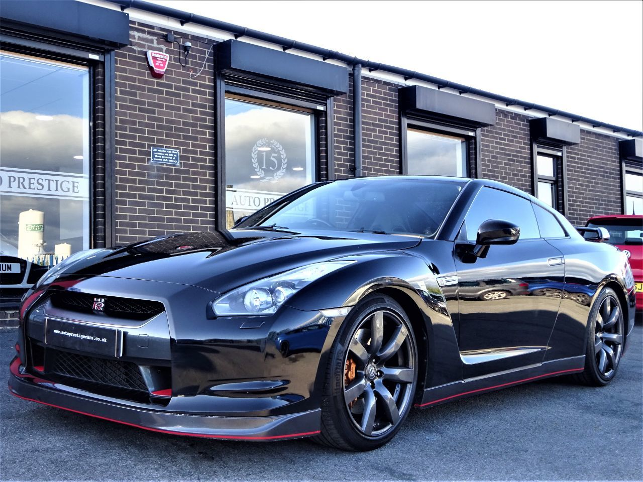 Nissan GT-R 3.8 Black Edition 2dr Auto [Sat Nav] WITH UPGRADES 600 BHP PLUS GTR PLATE Coupe Petrol Black at Autoprestige Bradford