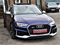 Audi RS4 2.9 TFSI Quattro HUGH SPECIFICATION PAN ROOF BANG OLUFSEN BUCKETS 360 CAMERAS ADAPTIVE CRUISE Estate Petrol Blue
