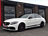 Mercedes-Benz C Class 4.0 C63 S Premium 4dr Auto WITH PAN ROOF JUST HAD 2500 SPENT AT MB Saloon Petrol White