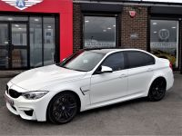 BMW M3 3.0 M3 4dr DCT HUGH SPEC 1 OWNER FROM NEW MINERAL WHITE Saloon Petrol White