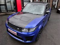 Land Rover Range Rover Sport 5.0 V8 S/C 575 SVR 5dr Auto HUGH SPECIFICATION Estate Petrol Blue