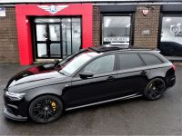 Audi RS6 4.0T FSI Quattro 5dr Tip Auto LOW MILEAGE 2 OWNERS PAN ROOF STEALTH PACK Estate Petrol Black